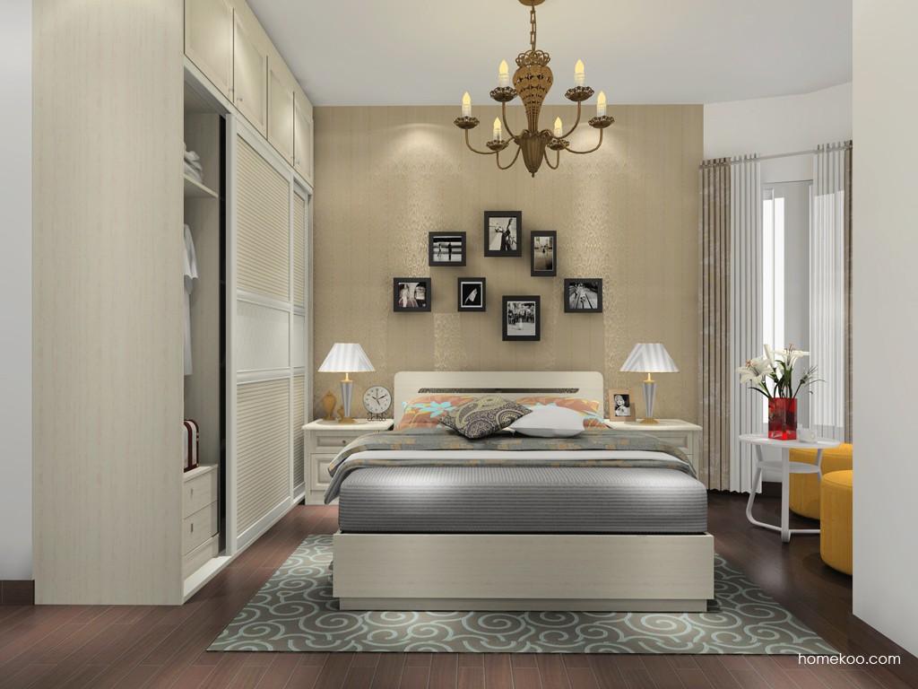 英伦印象卧房家具A17124