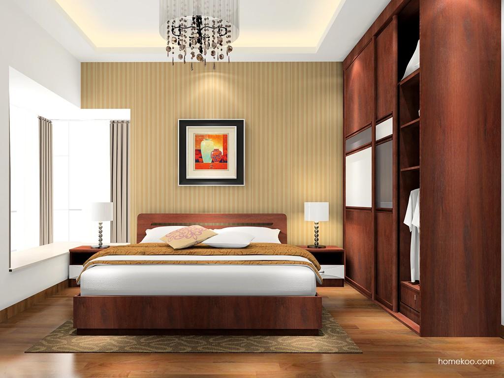 挪威月色卧房家具A17132