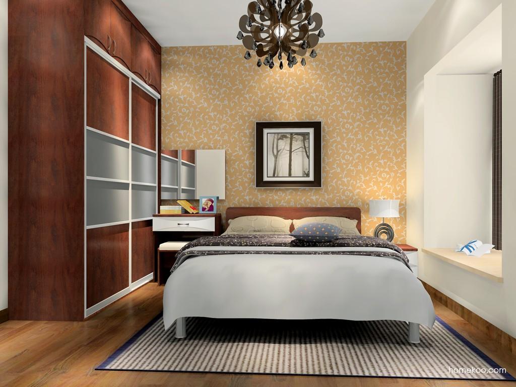 挪威月色卧房家具A17149