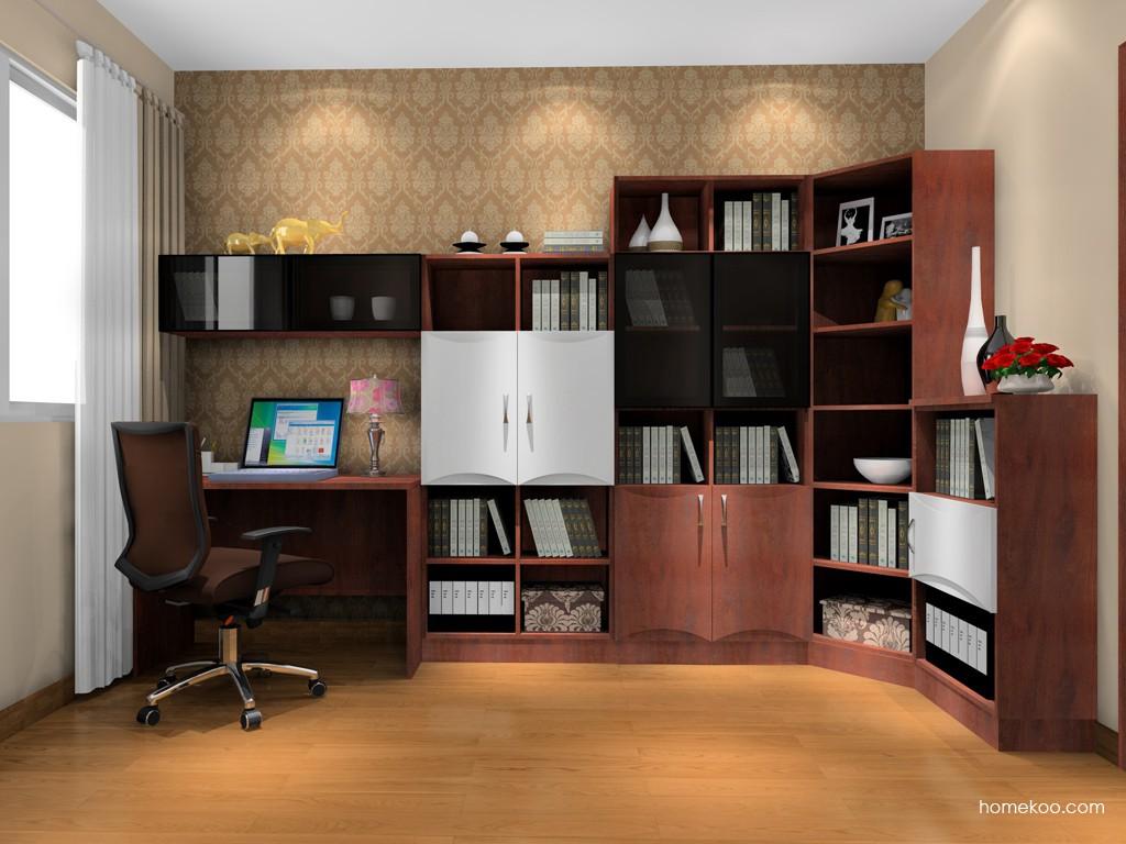 挪威月色书房家具C17094