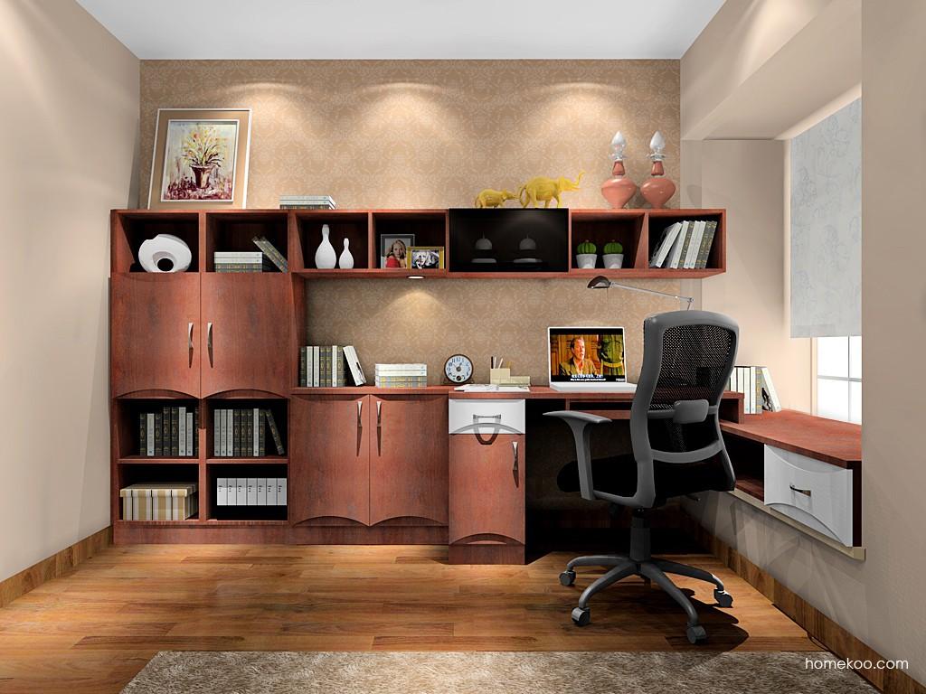 挪威月色书房家具C17097