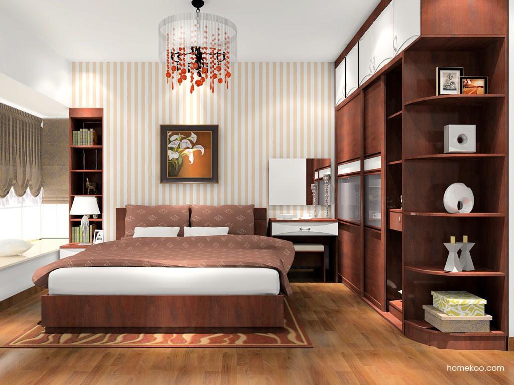 挪威月色卧房家具A17152