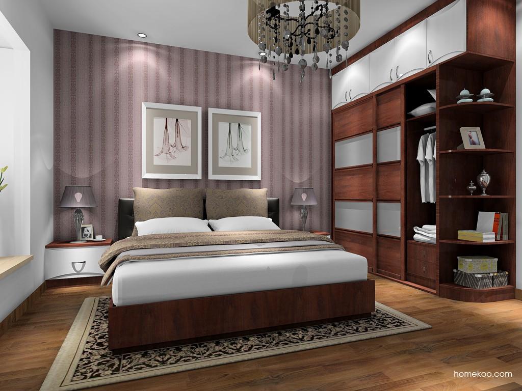 挪威月色卧房家具A17154
