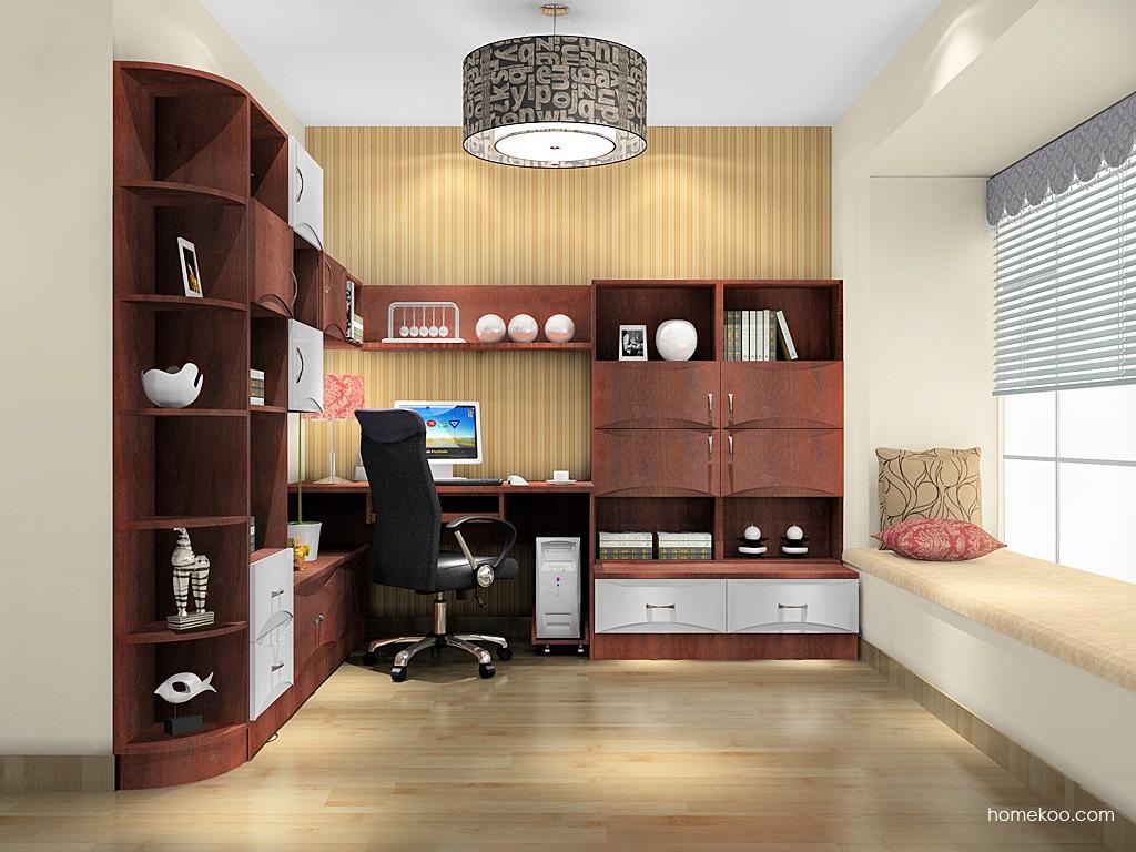 挪威月色书房家具C17085