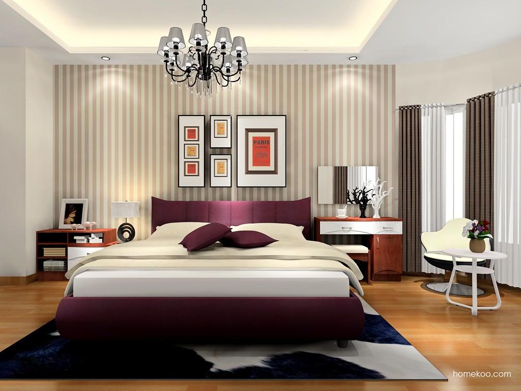 挪威月色卧房家具A17156
