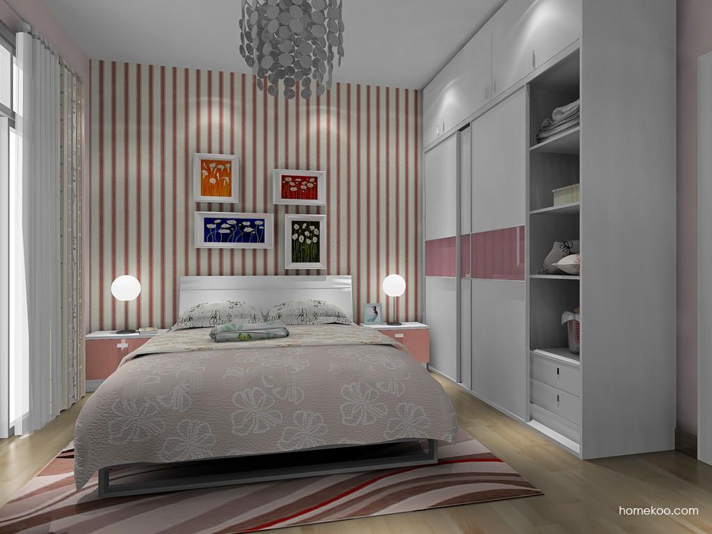 浪漫主义卧房家具A17160