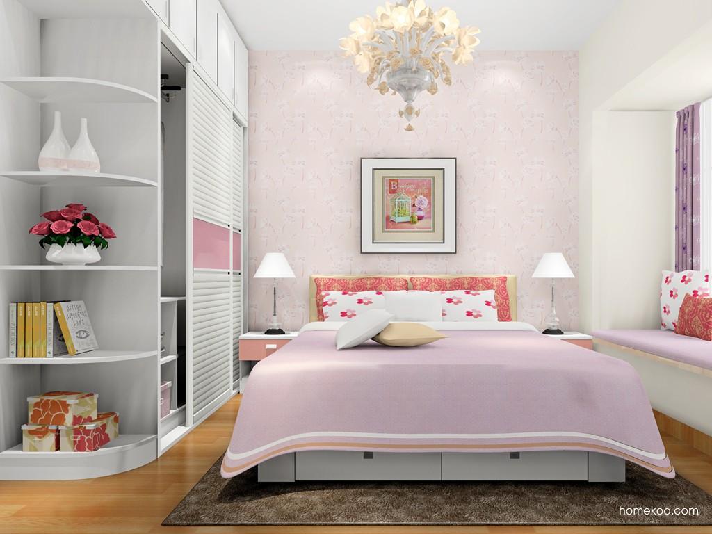 浪漫主义卧房家具A17158