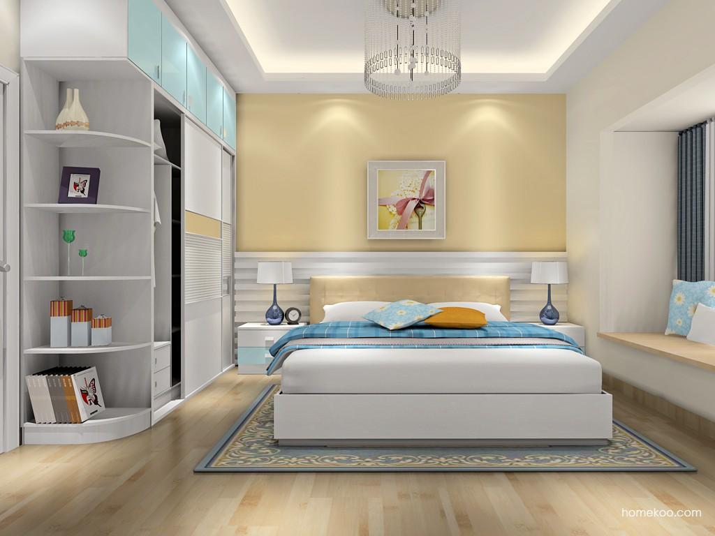 浪漫主义卧房家具A17204
