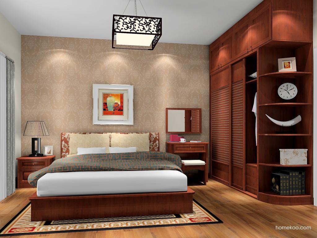 新中式主义卧房家具A17209