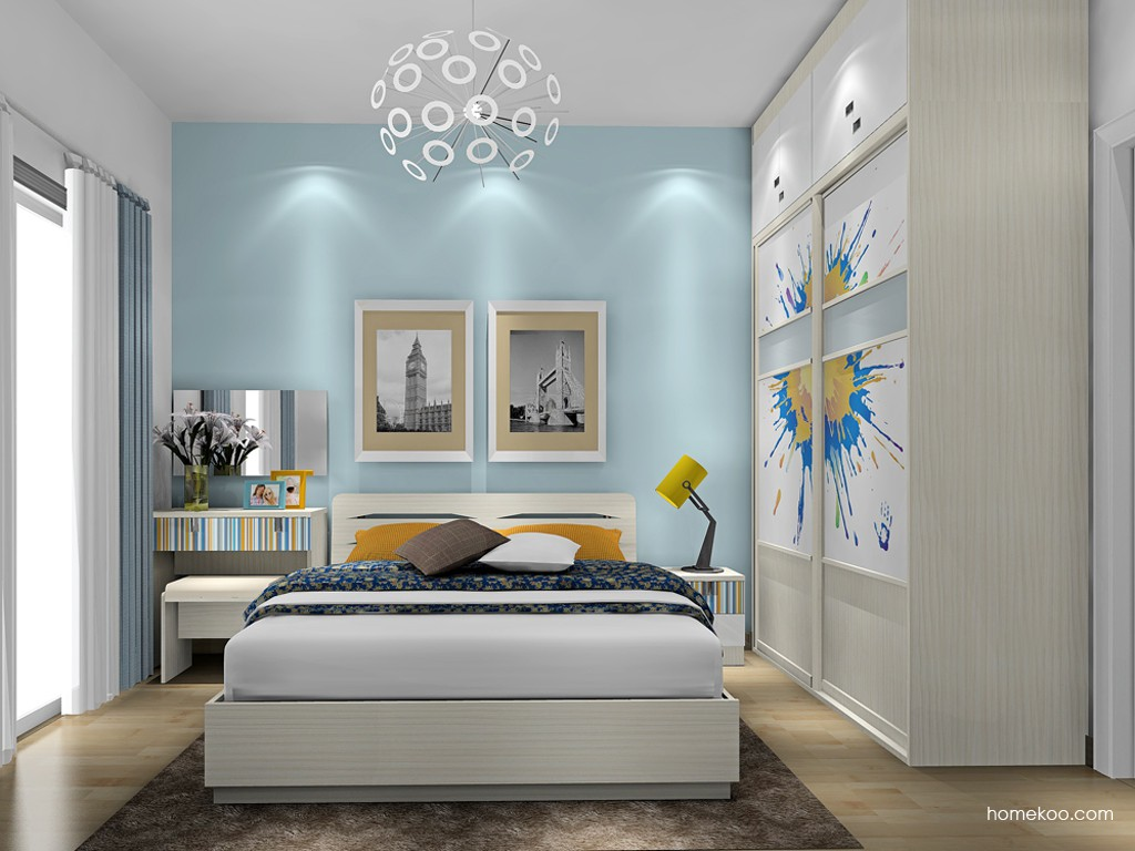 首尔之缤卧房家具A17210