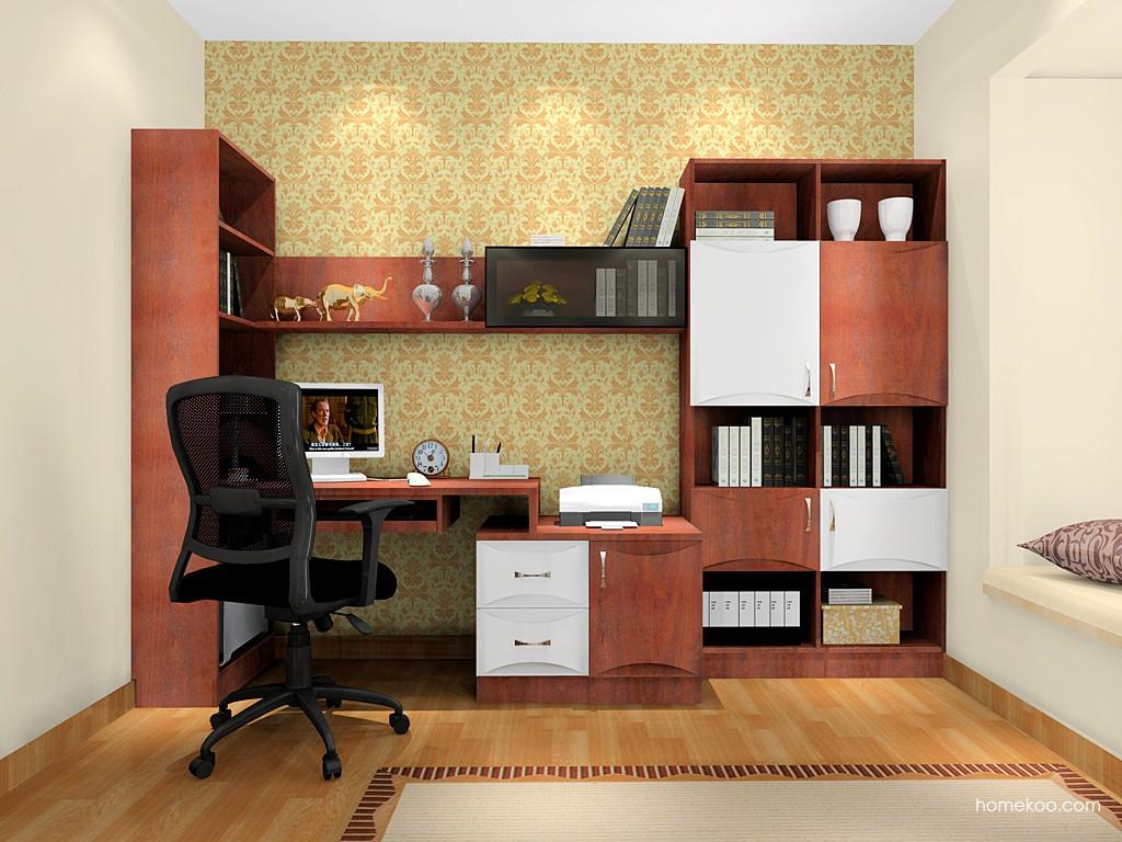 挪威月色书房家具C17153