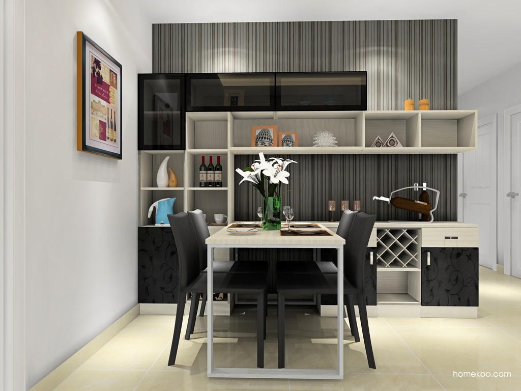 米兰剪影餐厅家具E16641