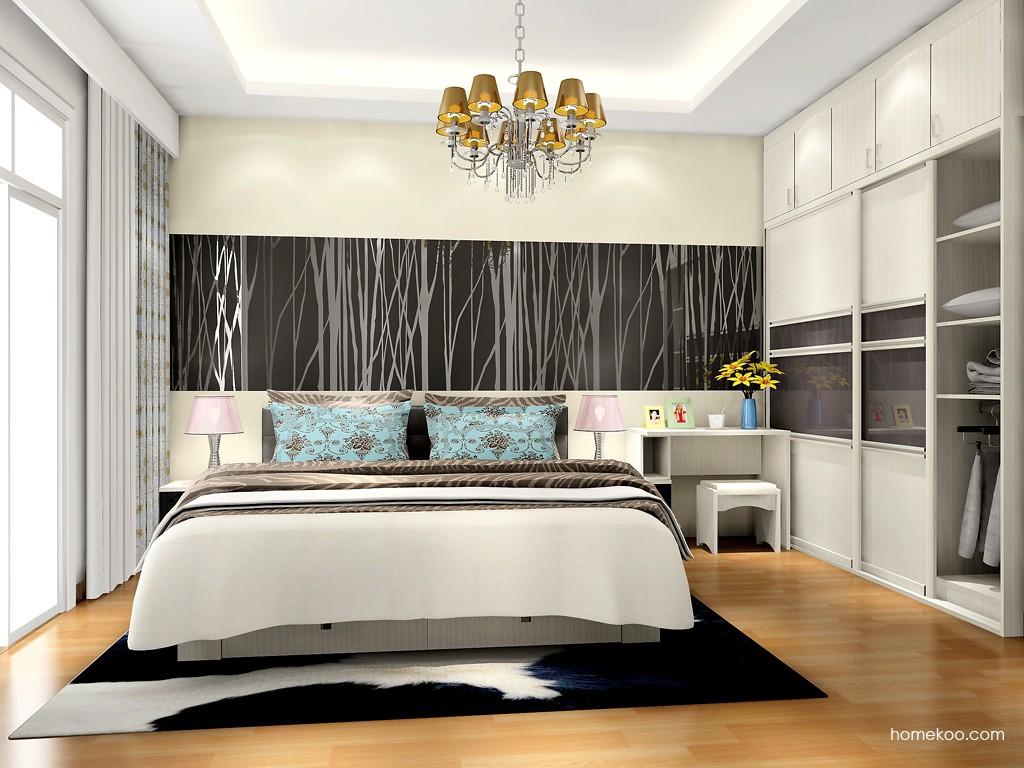 米兰剪影卧房家具A17222