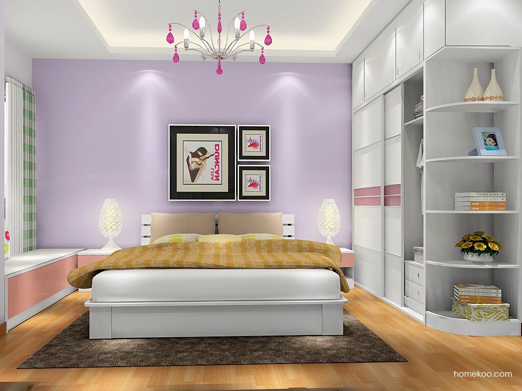 浪漫主义卧房家具A17223