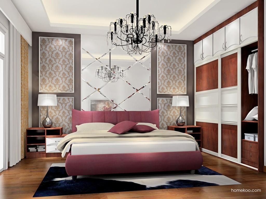 挪威月色卧房家具A17233
