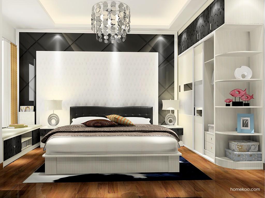 米兰剪影卧房家具A17238