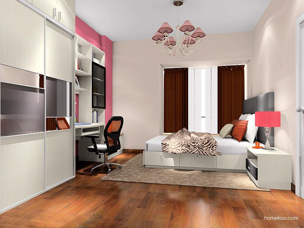 米兰剪影卧房家具A17245