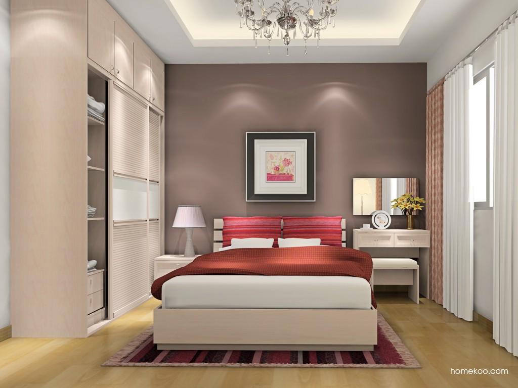 北欧阳光卧房家具A17254