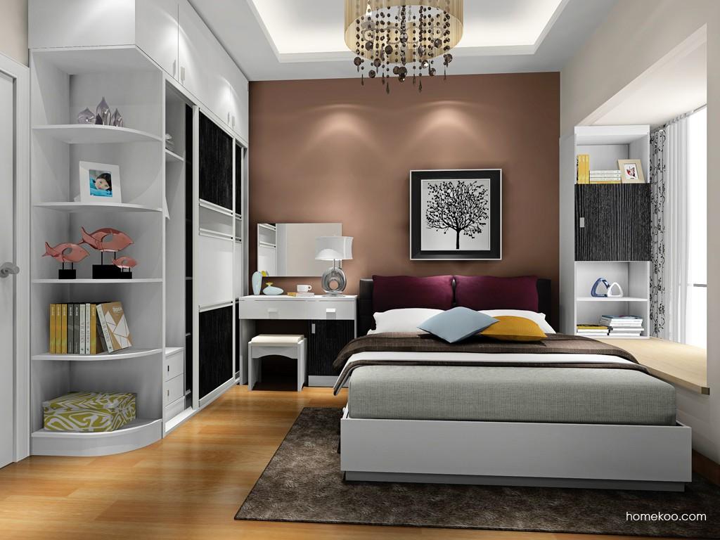 简约主义卧房家具A17255