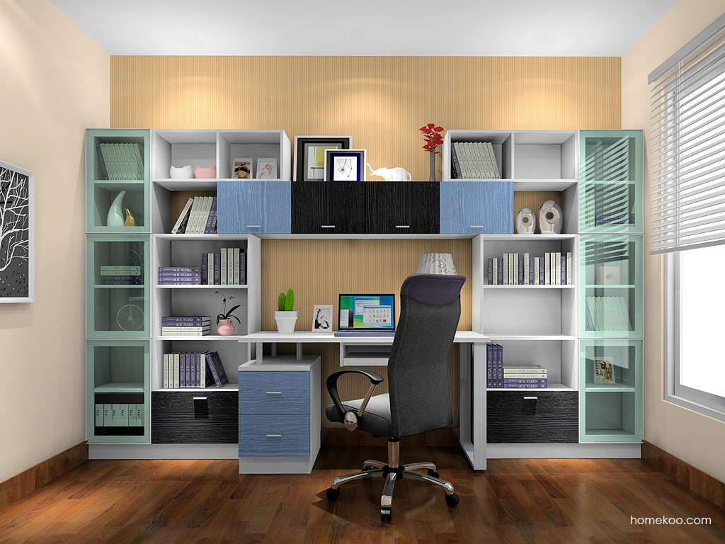 新实用主义书房家具C17211