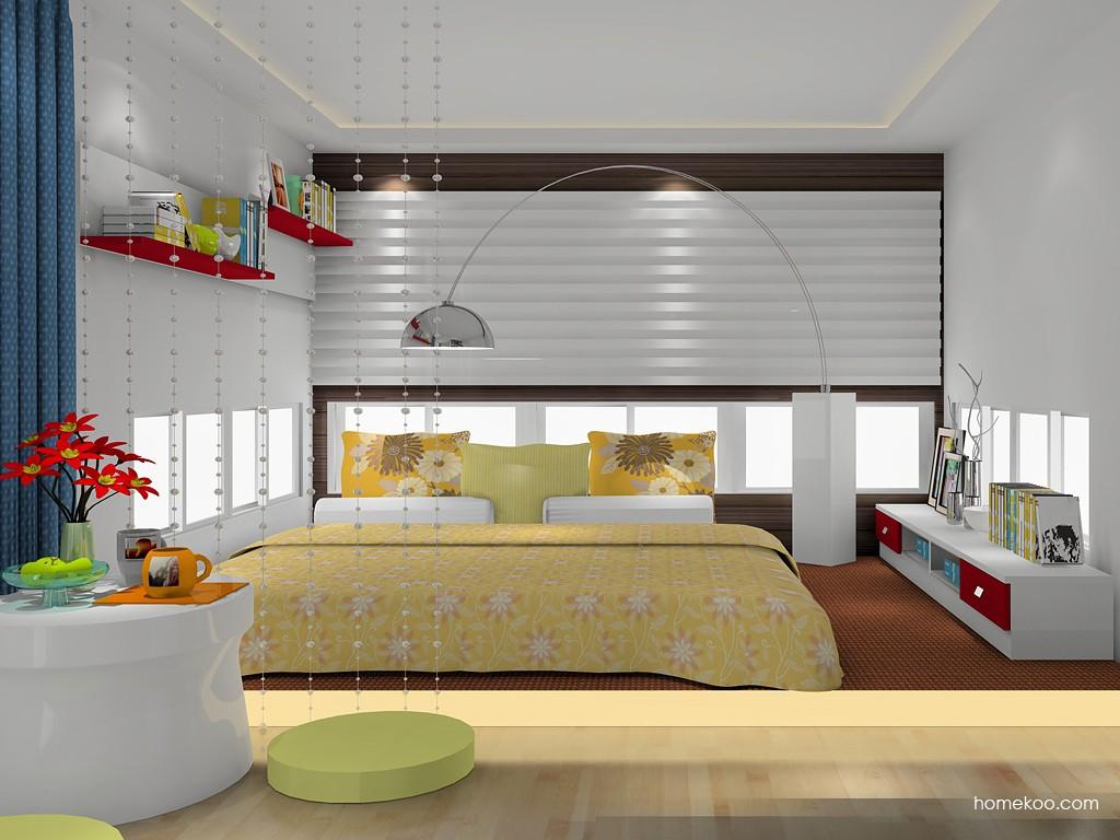 浪漫主义卧房家具A17273