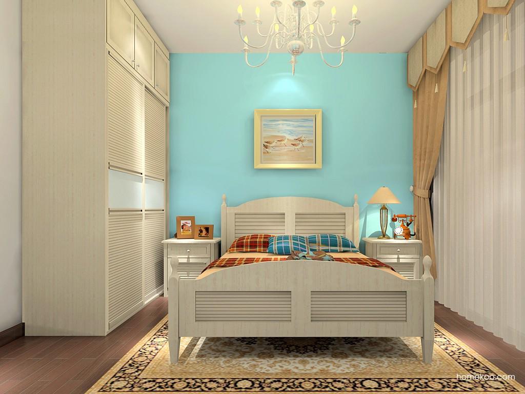英伦印象卧房家具A17287