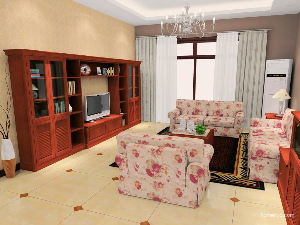 新中式主义客厅家具D16650