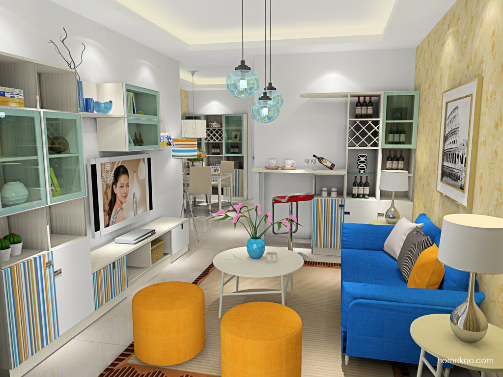 首尔之缤客厅家具D16655