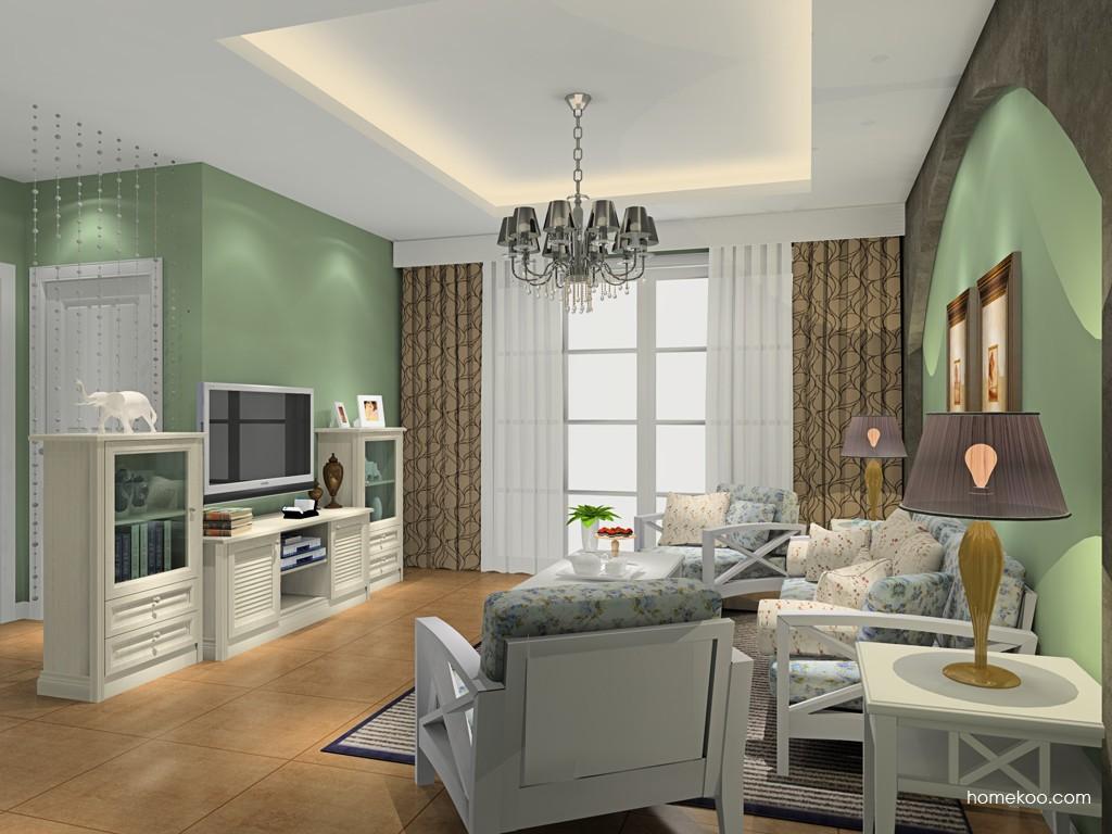 英伦印象客厅家具D16656