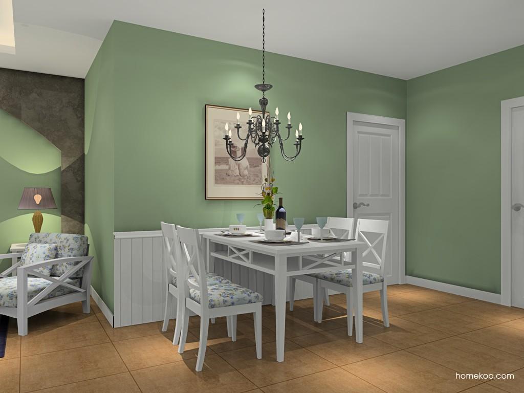 英伦印象餐厅家具E16649