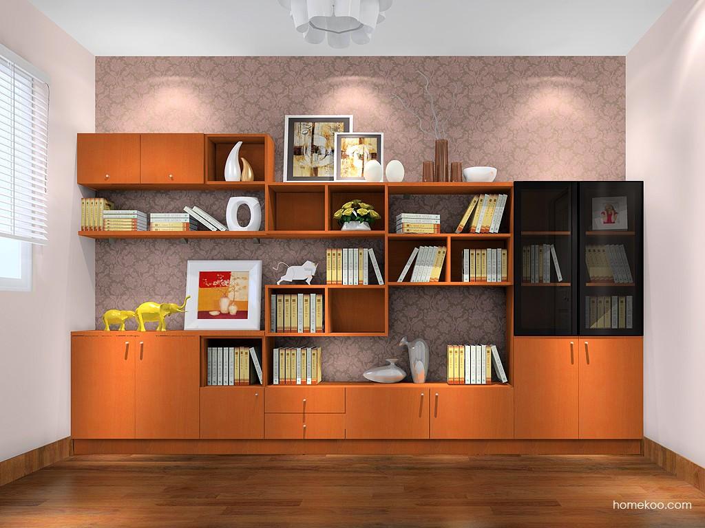 加州梦书房家具C17270