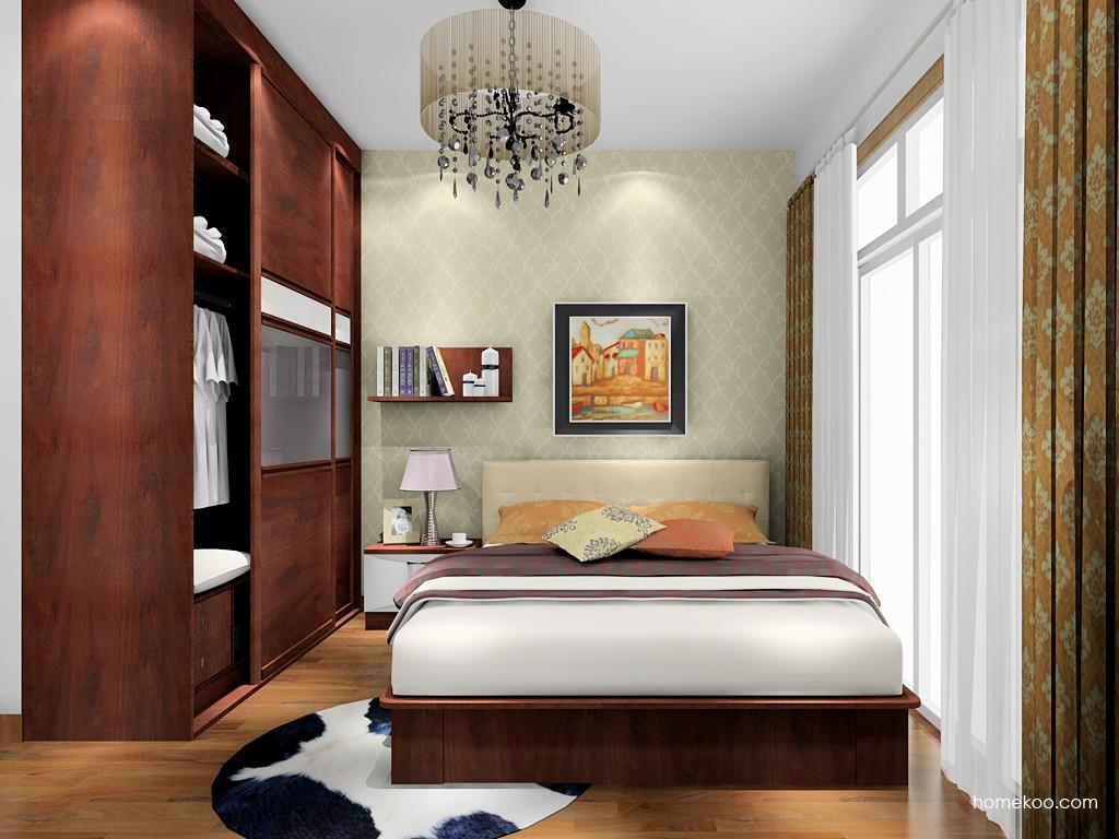 挪威月色卧房家具A17302