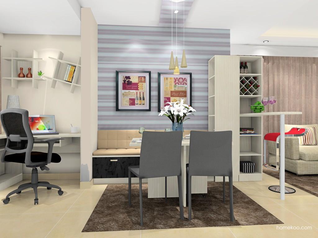 米兰剪影餐厅家具E16650