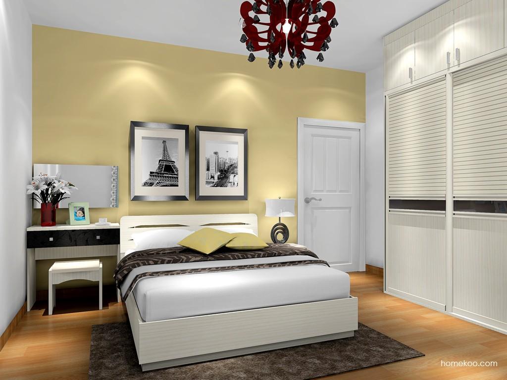 米兰剪影卧房家具A17308