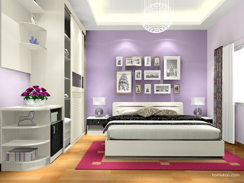 米兰剪影卧房家具A17317