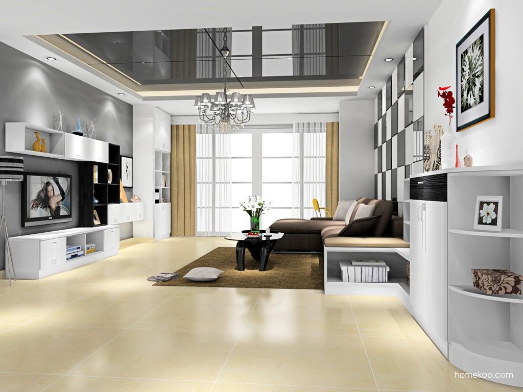 新实用主义客厅家具D16663