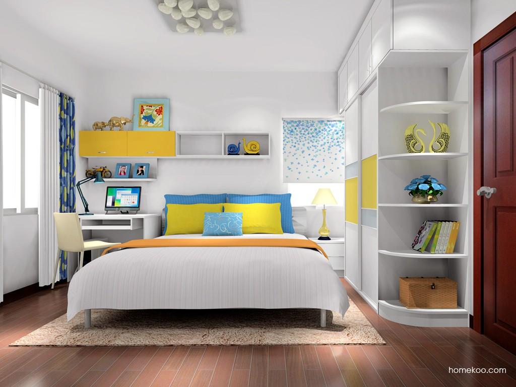 浪漫主义卧房家具A17337