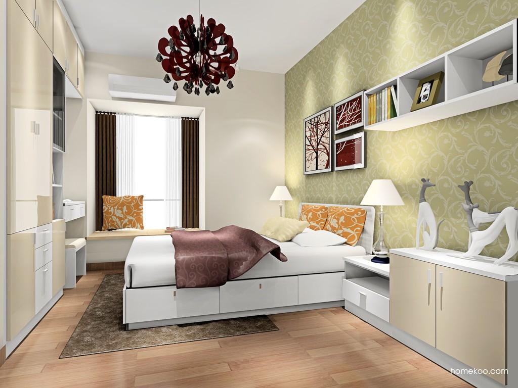 新实用主义卧房家具A17341