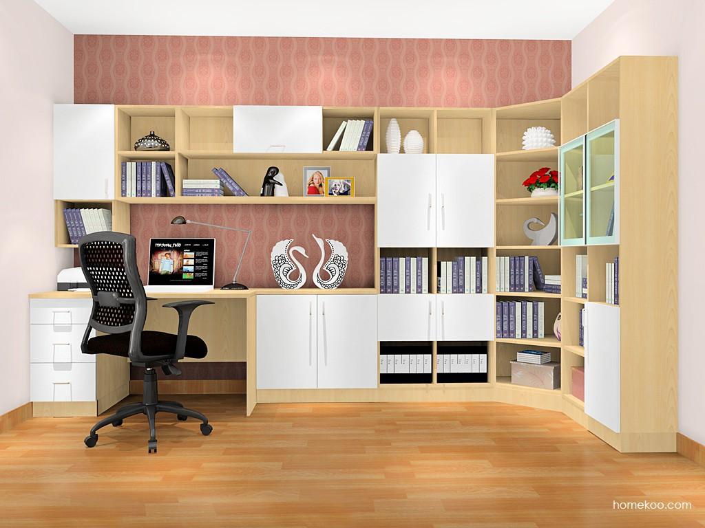 新实用主义书房家具C17368