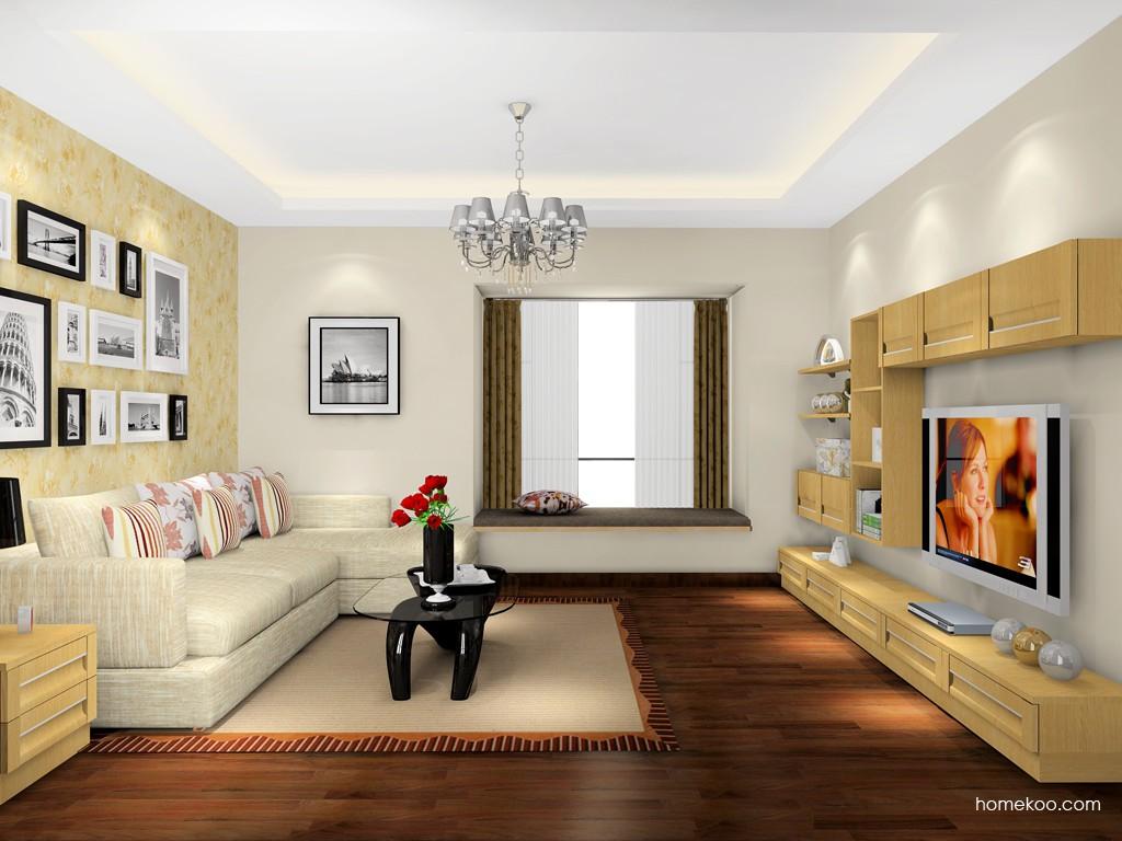 丹麦本色客厅家具D16675