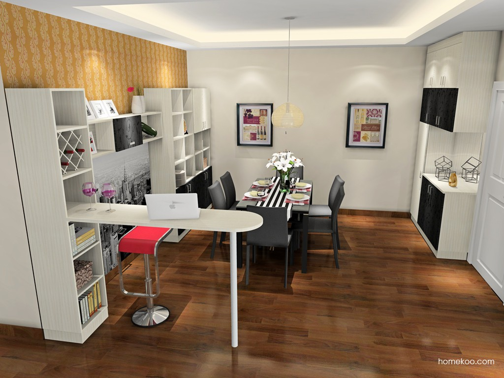 米兰剪影餐厅家具E16654