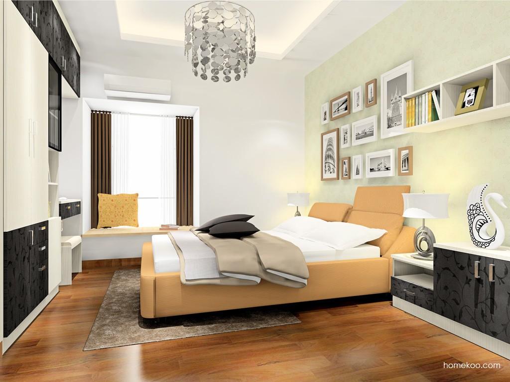 米兰剪影卧房家具A17362