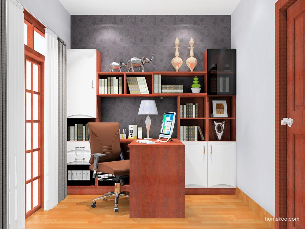 挪威月色书房家具C17390