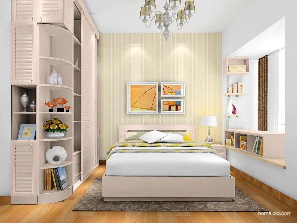 北欧阳光卧房家具A17365