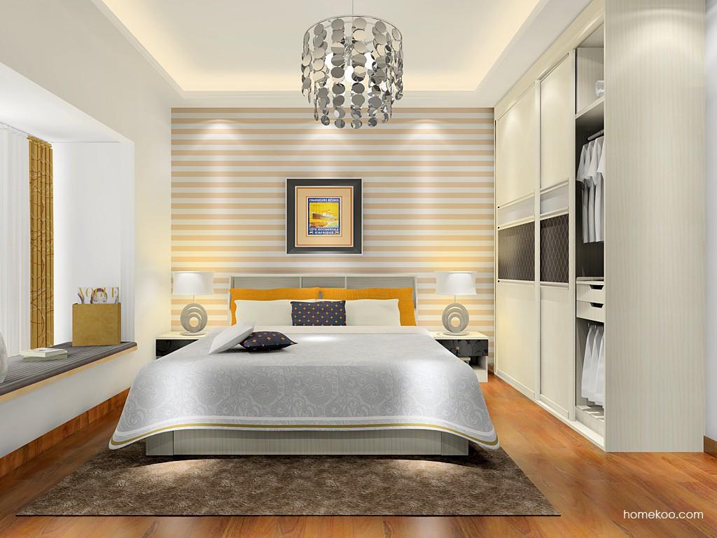 米兰剪影卧房家具A17367