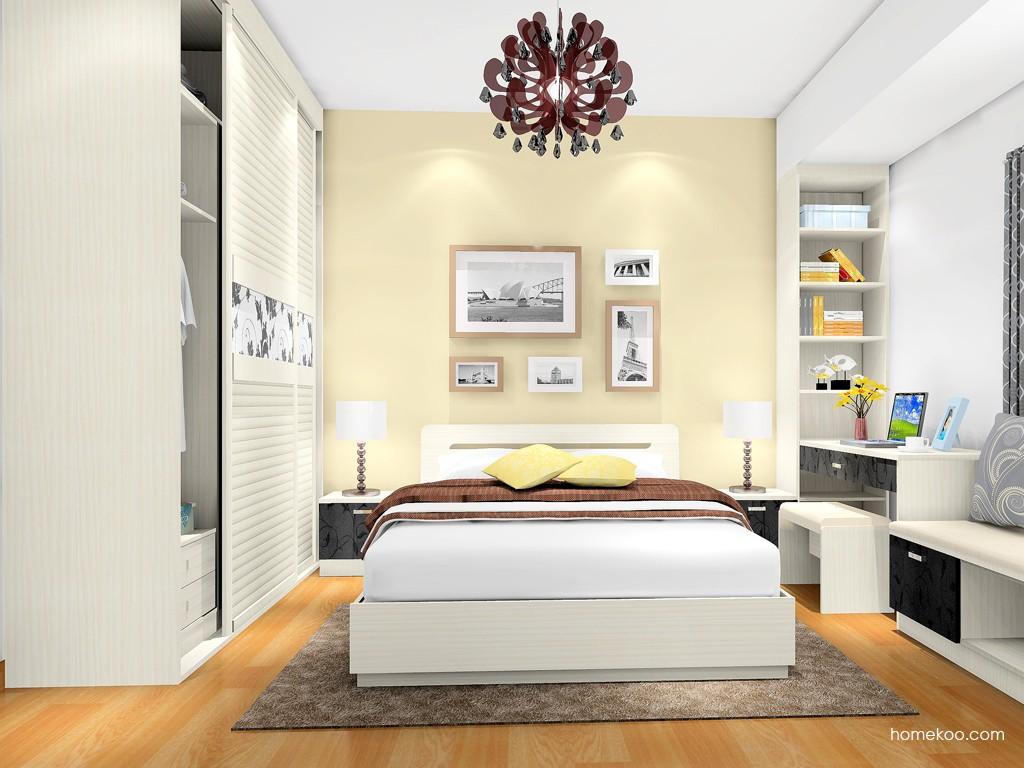 米兰剪影卧房家具A17369