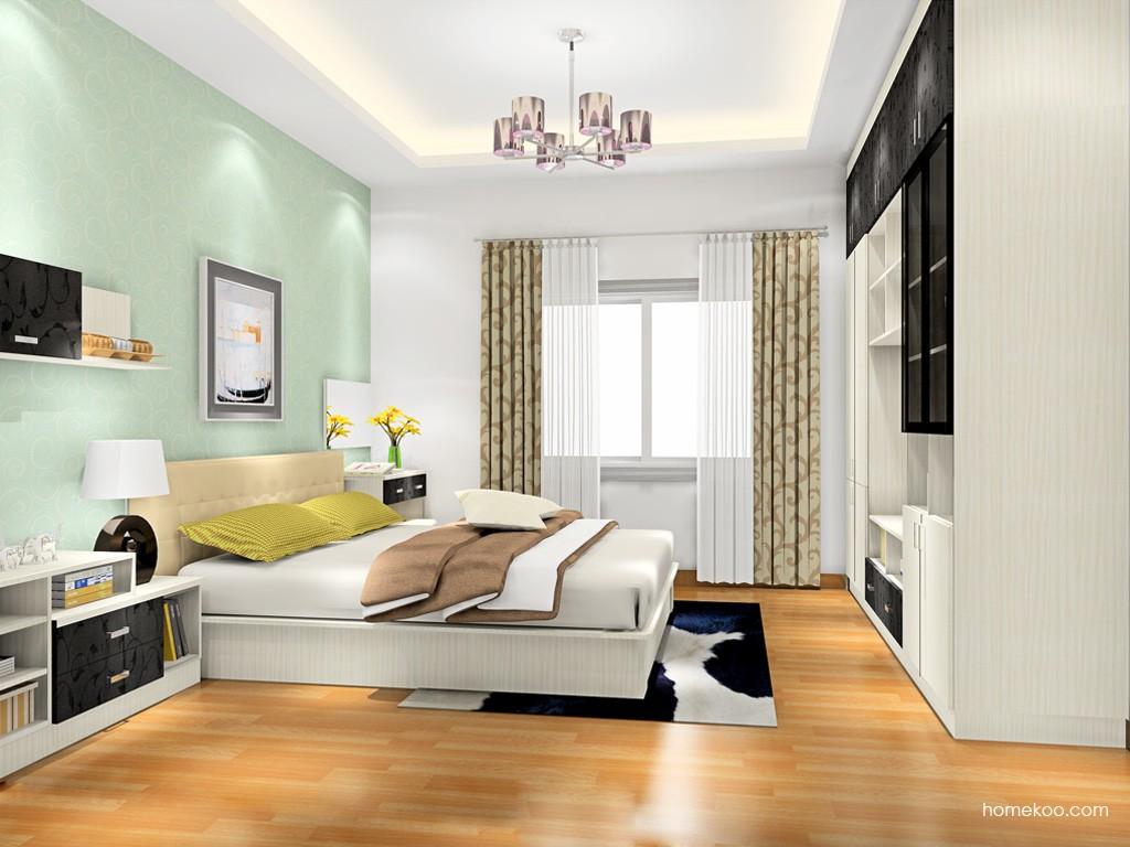 米兰剪影卧房家具A17372