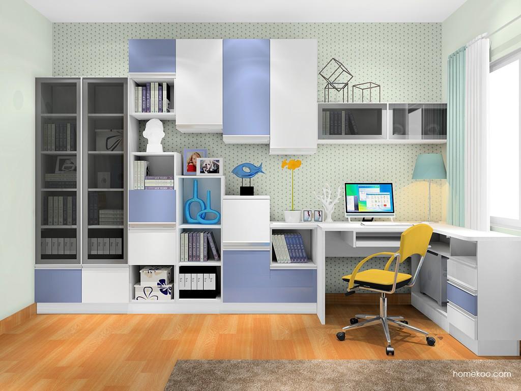 新实用主义书房家具C17413