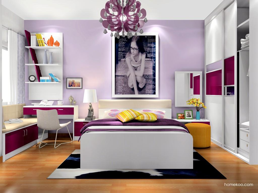浪漫主义卧房家具A17376