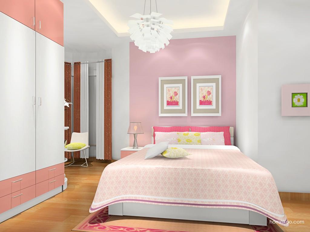 浪漫主义卧房家具A17381